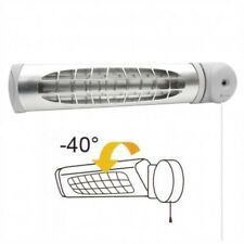 NEW INFRARED QUARTZ ELECTRIC HEATERS PATIO BATHROOM HEATER WALL MOUNTED HEATING