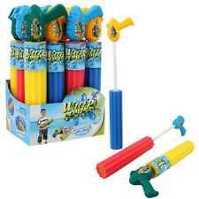 "2 Water Pump Foam Gun Ages 3+ Total Length 17"" (Please See Note)"