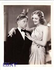 Mickey Rooney eyes sexy babe VINTAGE Photo