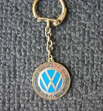 VW KEY RING TAG EMBLEM SPLIT OVAL BUG BEETLE COX KÄFER HEB 1200 - WINTER BERLIN