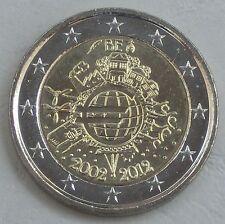 """2 Euro Belgien 2012 """"10 Jahre Euro"""" unz"""