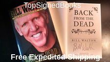 SIGNED Bill Walton Back From The Dead autographed w photos Trailblazers Celtics