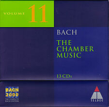 BACH 2000 VOL. 11: THE CHAMBER MUSIC Kammermusik. 13 CDs, sehr gut
