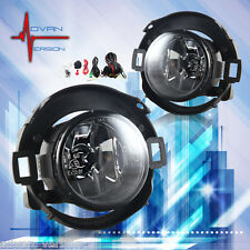For 05-14 Nissan Xterra & 10-15 Frontier Clear Fog Light Plastic Bumper Only KIT