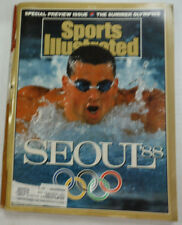 Sports Illustrated Magazine Seoul Preview WITH ML Denise Parker 1988 051315R