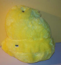 "JUST BORN YELLOW PEEPS CHICK SHAPE 11"" BEAN BAG TOY"