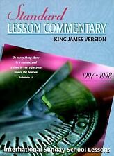Standard Lesson Commentary 1997-98: International Sunday School Lessons : King J
