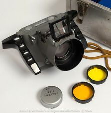 KONICA AERIAL Type G 120 Medium Format Skydiving Film Vintage Camera 135mm Lens