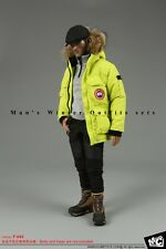 """Magic Cube Toys 1/6 F-043 Man's Winter Outfit Down Coat Jacket Set F 12"""" Figure"""