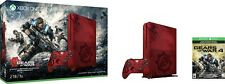 -/*BRAND NEW*- Xbox One S 2TB Console Gears of War 4 Limited Edition Bundle RED