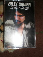 Billy Squire CASSETTE Enough Is Enough NEW