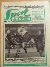 SPORT MAGAZIN KICKER 1A - 2.1. 1956 1.FC Saarbrücken-Kaiserl.7:7 nV HSV-Kiel 3:1