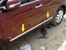 Side door Body molding chrome TRIM For HONDA CRV CR-V 2013 2014 2015 2016
