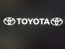 toyota car vinyl sticker sunstrip logo graphics decals front rear side bonnet