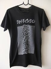 Japanese Text Unknown Pleasures Goth Punk Rock Graphic Tee T-shirt M