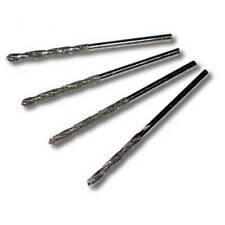 4pcs Set of Metric 2 mm diameter Diamond Coated HSS Twist Drills Bits