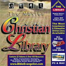 Most Comprehensive Digital Bible Christian Library Assembled Software USB Drive