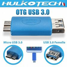 Adaptateur OTG HOST Micro USB 3.0 pour Samsung Galaxy Note 4 /Galaxy Note 12.2''