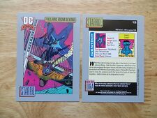 1991 IMPEL DC COSMIC JLA VILLAIN STARRO CARD SIGNED KEVIN MAGUIRE ART, WITH POA
