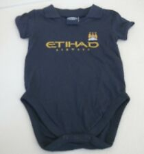 NEW  MANCHESTER CITY BABYGROW SLEEPSUIT VEST 12 18 MONTHS Footbal Baby