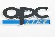 VAUXHALL OPC Line BADGE LOGO DECAL BONNET BOOT CIRCLE EMBLEM SIGLE OPC1