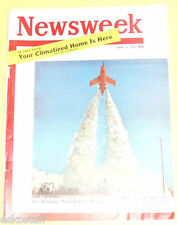 Newsweek Magazine - 1953 With Regulus Rocket cover Nice See!