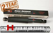 2 NEW REAR GAS SHOCK ABSORBERS FOR DAEWOO MATIZ SPARK DAEWOO ///GH-335015///