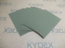 11 PIECES KYDEX T SHEET 297 X 210 X 2MM A4 SIZE OLIVE DRAB GREEN HAIRCELL FINISH
