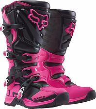 FOX RACING COMP 5 MX BOOTS MOTOCROSS BLACK/PINK GIRLS YOUTH SIZE: 4 16449-285-4