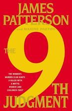 Women's Murder Club the 9th JUDGMENT Hardcover James Patterson Book 9 (nine)