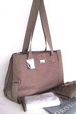 NEW Oroton Nappy Baby Diaper Bag Tote Handbag Taupe Change Mat Wet Pack RRP$395