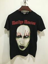 Marilyn Manson face of death t-shirt size small