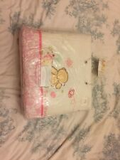 Izziwotnot Forever Friends Pink Cot / Cotbed Bumpers X2 New Cotton Baby Girl