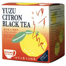Tea Boutique Yuzu Citrus Black Tea 2g x 10 Packs Made in Japan