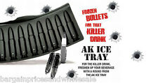 3D AK47 Bullet Shape Ice Cube Tray Frozen killer Drink Idea Gift