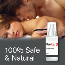 MAN UP DELAY CREAM BOOST ENDURANCE INCREASE STAMINA HAVE SEX FOR HOURS