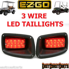 EZGO TXT, ST Golf Cart Full LED Rear Tail Light (2 LED Taillights) USA Seller