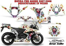 AMR RACING DEKOR GRAPHIC KIT HONDA CBR250,500R,600RR,1000RR ED-HARDY LOVEKILLS B