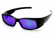 Polarized Sunglasses Outdoor Sports Goggle Eyewears Wear Fit Over Glasses BLUE