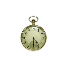 "En or 9 carats ""vintage"" open face pocket watch"