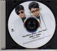 (DO918) The Disco Boys, For You - EPK+Video DJ DVD