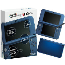 New Nintendo 3DS LL Metallic Blue Japanese Imported Version