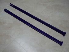 SIMMONS SKIS SKI FRONT PLASTIC TIPS STRAPS LOOPS GRAB HANDLES FLEXI BLUE NEW