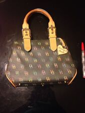 Dooney and Bourke Black  Logo Purse Handbag