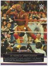 2014 Topps WWE Road to Wrestlemania 30 Years of Wrestlemania #7 Hulk Hogan