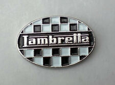 LAMBRETTA SCOOTER OVEL PIN BADGE NEW