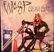 WASP Mean Man , Locomotive Breath , For Whom The Bell Tolls Uk 12'