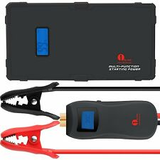 1byone Lithium Portable Auto Car Jump Starter Battery Power Bank 9000mAh 12V