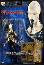 HELLRAISER series 1 WIRE TWIN action figure-Clive Barker-Horror-Pinhead-NECA-MOC