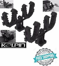 Rhino Double Grip Gun Rack ATV Mount Rifle Holder Bows Pole UTV Truck Gear New